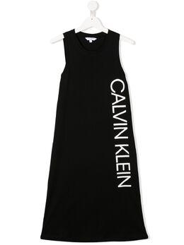Calvin Klein Kids платье с логотипом G80G800311BEH