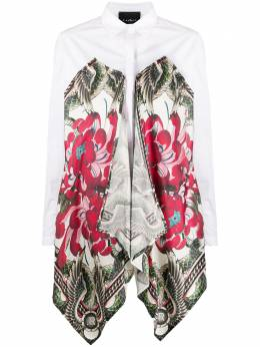 John Richmond блузка Cressida с контрастными вставками RWP20482CA