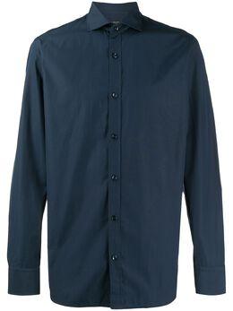 Z Zegna строгая рубашка с длинными рукавами 0CQ0039DFEDI