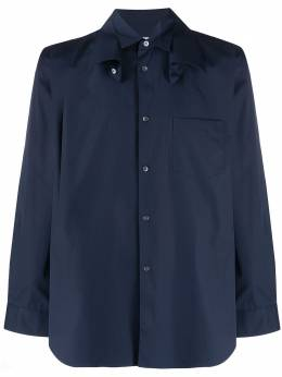Comme Des Garcons Shirt рубашка с двойным воротником S28073