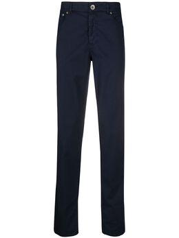 Brunello Cucinelli брюки чинос прямого кроя M289LI1780C2517