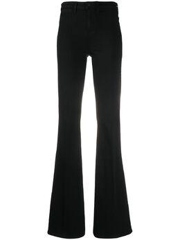 L'Agence расклешенные джинсы с завышенной талией 2590D18