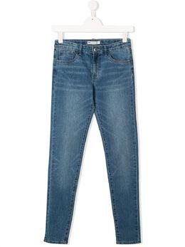Levi's Kids джинсы кроя слим с эффектом потертости 4E2702M8F