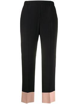 No. 21 брюки с контрастными вставками 20EN2M0B0615111
