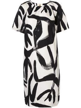 Lee Mathews платье с абстрактным принтом M1904DR262CPB