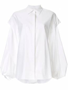 Acler Hawker layered cut-out shirt AL2001212T