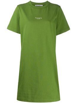 Acne Studios платье-футболка A20191