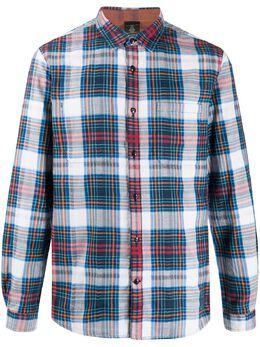 John Varvatos клетчатая рубашка с длинными рукавами W600W1B73VD