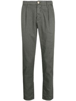 Altea брюки прямого кроя со складками 3054