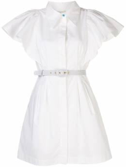 Nicholas платье-рубашка с оборками на рукавах S20D189623