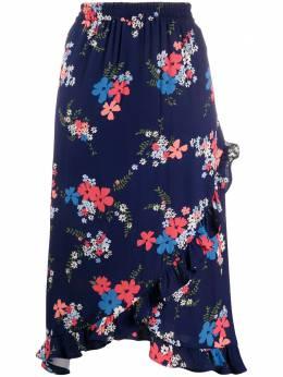 MICHAEL Michael Kors юбка миди с цветочным принтом MS07F3BDXP