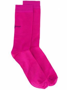 Salvatore Ferragamo носки с логотипом 717963