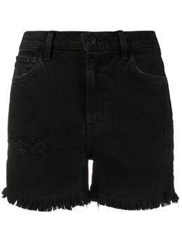 J Brand джинсовые шорты с бахромой JB002787B