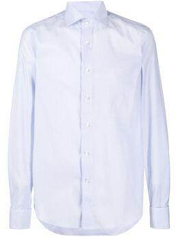 Canali рубашка узкого кроя NXC3GR01644