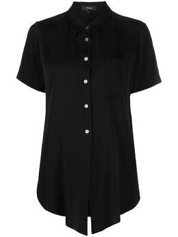 Theory рубашка с короткими рукавами K0202503