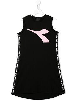 Diadora Junior платье с логотипом 022790