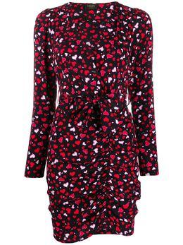 Liu Jo платье асимметричного кроя с принтом PA0099T5869