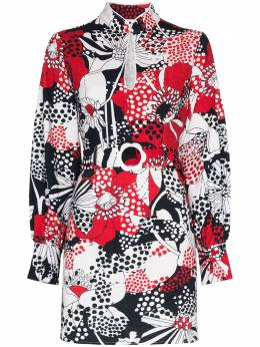 Rixo платье мини Michelle с цветочным принтом RIX10493220792