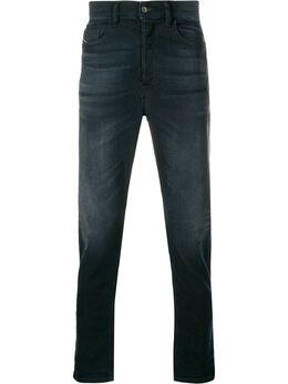 Diesel джинсы прямого кроя с эффектом потертости 00SQLY084AY