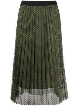 Liu Jo плиссированная юбка из тюля WA0401J5925