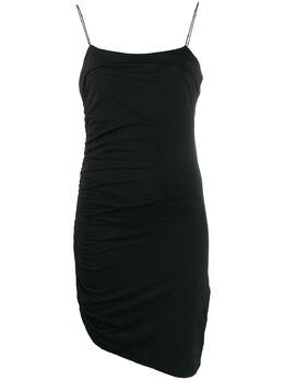 Alexander Wang платье-комбинация асимметричного кроя 4CC1206011