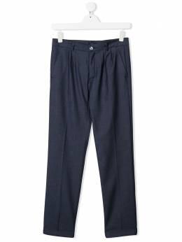 Harmont & Blaine Junior прямые брюки строгого кроя 202JW010
