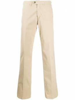 Canali прямые брюки средней посадки 91612PT00452