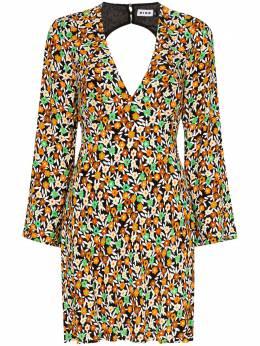 Rixo платье мини Sophie с цветочным принтом RIX10188220280