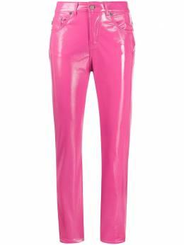 Fiorucci виниловые брюки Yves W02BYVE1VPK