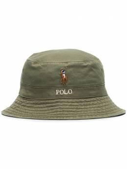 Polo Ralph Lauren панама с вышитым логотипом 710787242004