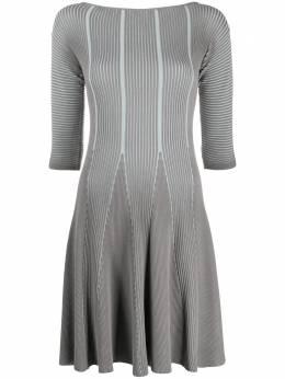 Emporio Armani трикотажное платье миди 3H2AW52M31Z