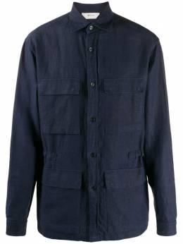 Z Zegna рубашка с накладными карманами VU160ZCOS1