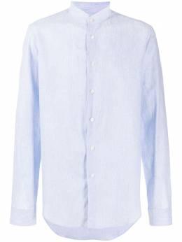 Dell'oglio рубашка с воротником стойкой и длинными рукавами BAGU2B7UR50401152570
