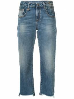 R13 укороченные джинсы прямого кроя R13W0091143A
