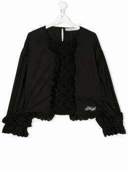 Philosophy Di Lorenzo Serafini Kids блузка с вышивкой PJCA34CA244