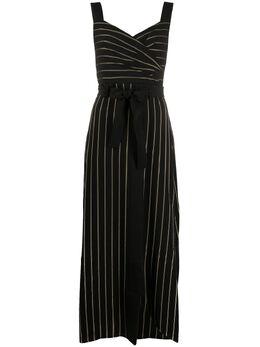 Emporio Armani платье в тонкую полоску 3H2A862NXLZ