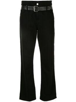 Rta расклешенные брюки с поясом WH9450224BSFT