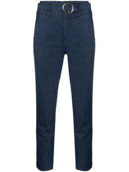 Liu Jo укороченные джинсы с поясом UA0082D4437