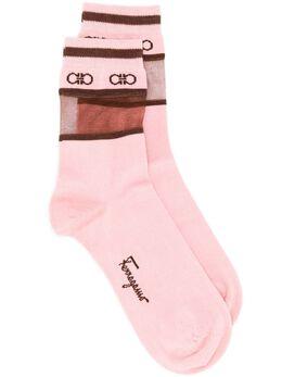 Salvatore Ferragamo носки с логотипом 727612