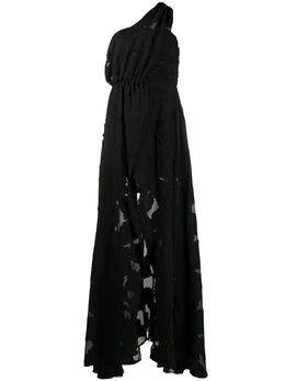Federica Tosi вечернее платье асимметричного кроя FTE20AB0700CH0013