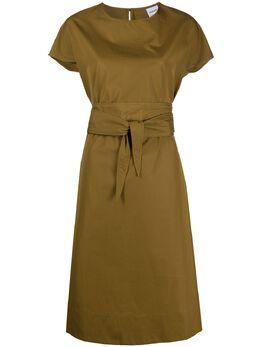 Aspesi платье-футболка с поясом H604D307
