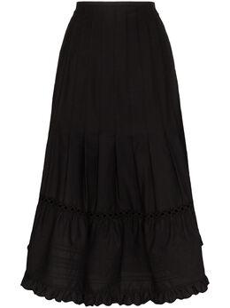 See By Chloe плиссированная юбка миди CHS19WJ04021