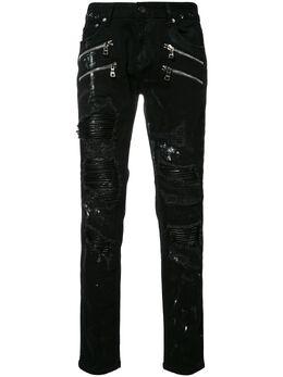 God's Masterful Children джинсы кроя слим с рваными деталями GMC08AFJ03C