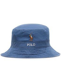 Polo Ralph Lauren панама с вышитым логотипом 710787242003