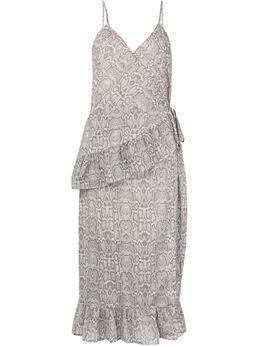 Suboo платье с запахом и оборками SB1697SS20