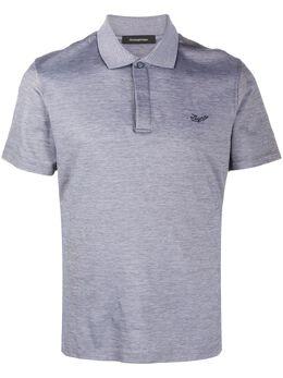 Ermenegildo Zegna рубашка-поло с вышитым логотипом UU505746R