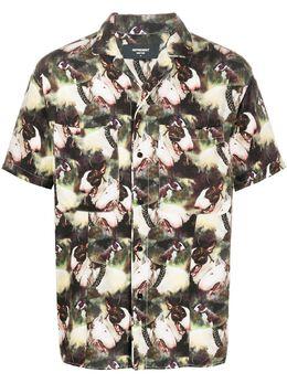 Represent рубашка со сплошным принтом M06020