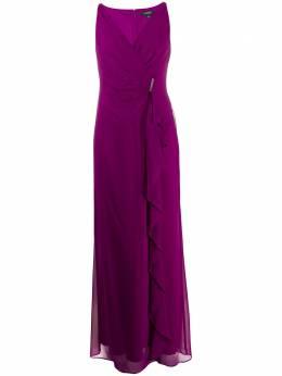 Lauren Ralph Lauren платье макси Hermina с запахом 253786020001