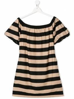 Monnalisa платье в полоску 4159145317