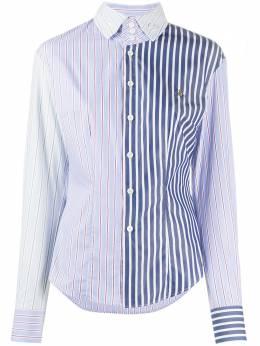 Vivienne Westwood полосатая рубашка с длинными рукавами S26DL0360S52812